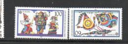 ALLEMAGNE  N° 1249/1250 **  Luxe - EUROPA JEUX D´ENFANTS 1989 - Cote 3.75 € - Europa-CEPT