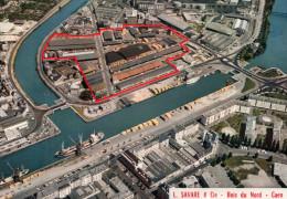 Carte Postale (dos Vierge) 14 Caen , Les Etablissements Savare A Caen ...photo Pathe A Caen - Caen
