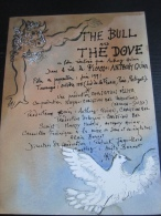 Plaquette 1 Feuillet : The Bull And The Dove, Anthony Quinn, 1991 - Cinemania