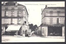 MONTMOREAU -  Carrefour De La Route D' Angoulême - Non Classificati