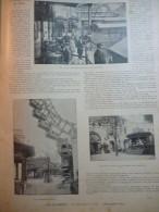 Paris , La Grande Roue , Canards électriques , Restaurant ,  Gravure Sgap 1899 / 2 Pages - Documenti Storici