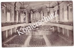 Musiksaal Stadtkasino Basel 1922    (z2161) - BS Bâle-Ville