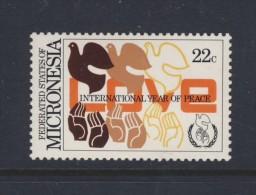 MICRONESIE 1986 ANNEE DE LA PAIX Sc N°46 NEUF MNH** - Micronésie