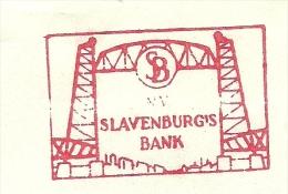 COVER NICE METER BRIDGE Slavenburgs Bank, Adam 11/10/1967 - Bruggen