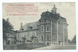 Château De RESIMONT - Pub Pour Isolation Kosmos Anvin Pas De Calais // - Ohey