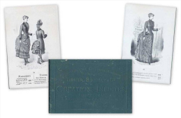 Tissier Bourely & Cie. Creations Inedites Hiver 1884 - 85. Catalogo. - Libri, Riviste, Fumetti