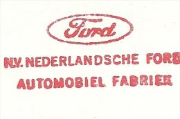 METER CUT FORD Dutch Automobiel Mill, Amsterdam 10/3/1972 - Auto's