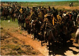 Afrique - Lesotho Riders Gathering For A Pitso - Très Très Rare- - Lesotho