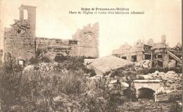 Fresnes En Woevre-place De L'eglise Blockhaus - France