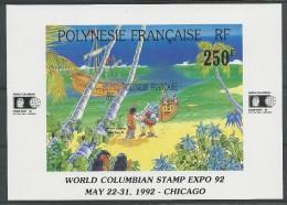 POLYNESIE - BLOC YVERT N°20 ** - COTE = 7.7 EUROS - Blocs-feuillets