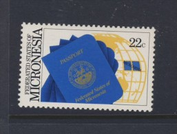 MICRONESIE 1986 PASSEPORT MICRONESIEN Sc N°53 NEUF MNH** - Micronésie