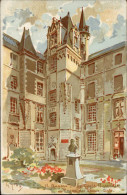 49 - ANGERS - Musée Des Beaux Arts - Carte Pub - Germain Et Grassin - Angers