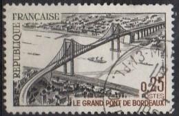 PIA - FRANCE ; 1967 :  Inaugurazione Del Grande Ponte Di Bordeaux -  (Yv 1524) - Francia