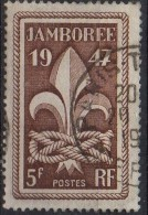 PIA - FRANCE ; 1947 : Scoutismo : Jamboree Mondiale A Moisson -  (Yv 787) - Francia