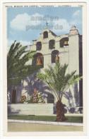 BELLS, SAN GABRIEL ARCHANGEL MISSION CALIFORNIA - Ca 1940s-50s Vintage Postcard [5723] - Missions