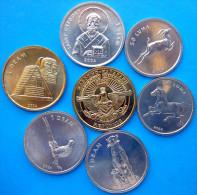 NAGORNO KARABAKH 2004 SERIE 7 MONETE FDC UNC