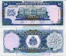 HAITI 25 GOURDE 2014 P 266 NEW SIGN UNC - Haiti