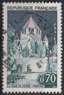 PIA - FRANCE ; 1963-65 : Turismo : Torre Di Cesare A Provins -  (Yv 1392A) - Francia