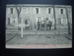 Guerre De 1914-1915 –Tombes Allemandes Dans La Cour Des Cristalleries De Baccarat. - Cimiteri Militari