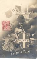 Il Sogno D´Italia!, Tripoli Di Barberia, CPA CIRCULEE 1911A CLEMENTINA PASQUALE SAN LUIS 22 RIO CUARTO : Italian Libya - Libië