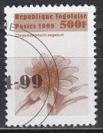 Togo, 1999 - 500f Flowers - Nr.1872 Usato° - Togo (1960-...)