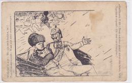 cpa-div-politique-napoleon I et guillaume II-pas sur delcampe