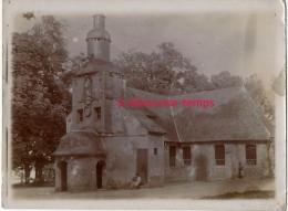 Vers 1890-HONFLEUR-gros Plan Sur La Chapelle Notre Dame De Grace-papier Photo Fin Format 9 X 12cm-bel état - Anciennes (Av. 1900)