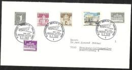 Deutschland Berlin Ua. Michel 140 231 255 270 271 Sonderstempel 3. Luftpost-Salon-IAPC Deutsche Luftpost. SSt. 6.2.1969 - Storia Postale