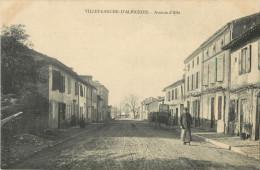 81 VILLEFRANCHE D ALBIGEOIS - AVENUE D ALBI - Villefranche D'Albigeois