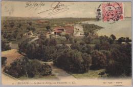 AK TUNISIE BIZERTE 1910-10-31  Cachet Convoyeur Bizerte à Tunis Baie De Ponty Photo Fages - Tunisie