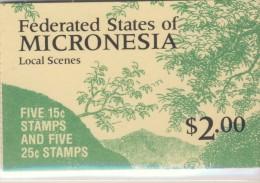 MICRONESIE 1985/88 CARNET COURANTS Sc N°36b NEUF MNH** - Micronésie