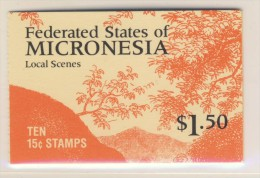 MICRONESIE 1985/88 CARNET COURANTS Sc N°33a NEUF MNH** - Micronésie