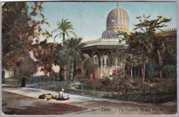 AK EGYPTE ALEXANDRIA 1910-02-14 Alexandria Mosquée Moerirt Photo L.L. - Alexandrie