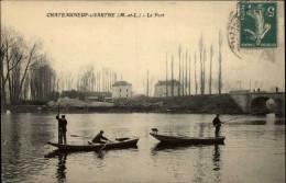 49 - CHATEAUNEUF-SUR-SARTHE - - Chateauneuf Sur Sarthe