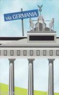 USATE  (LE CITTA' DELL'EURO ) VIA GERMANIA - Public Practical Advertising