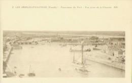 LES SABLES D'OLONNE - Panorama Du Port Vue Prise De La Chaume - Sables D'Olonne