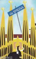 USATE  (LE CITTA' DELL'EURO ) VIA SPAGNA - Public Practical Advertising