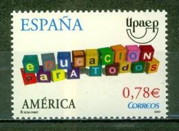 Jeux, Cubes Multicolores - ESPAGNE - Education Pour Tous - América-UPAEP - 2007 - 1931-Today: 2nd Rep - ... Juan Carlos I