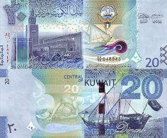 Kuwait 20 Dinars 2014 P-new UNC - Kuwait