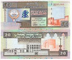 KUWAIT 20 DINARS L1968(1994)(2014) P-28-NEW UNC - Kuwait