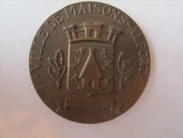 Médaille Ville De Maisons Alfort Mansionibus Abeille Ruche Challenge Mantéga Roussel - France