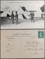 WW1 - Photographie / Carte-Postale - Camp De Cercottes LOIRET - Relève De Sentinelle Et Appel Au Sergent De Semaine - War 1914-18