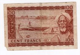 Interessant Billet De 100 FRANCS 1960 - Mali