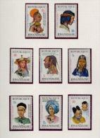 Rwanda - 553/560 - Quinzaine Africaine - 1973 - MNH