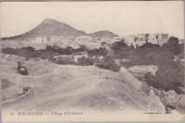 AK ALGERIE BOU-SAADA Non Expédiée Village D´El-Hamel Photo Geiser - Autres Villes
