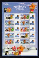 FEUILLET 2006 YT N° F3986A 10 TIMBRES Personnalisé Meilleurs Voeux -TVP 20gr -Petite Vignette Les Timbres Personnalisés - Frankreich