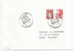 B228 - PHILATELIE STRASBOURG- 1989 - - France