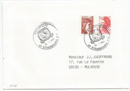 B228 - PHILATELIE STRASBOURG- 1989 - - Francia