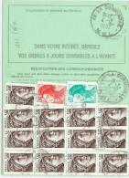 LGM - ORDRE DE REEXPEDITION AU TARIF DU 1/6/1982 (41f) - Posttarieven