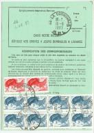 LGM - ORDRE DE REEXPEDITION AU TARIF DU 1/6/1983 (44f) - Posttarieven